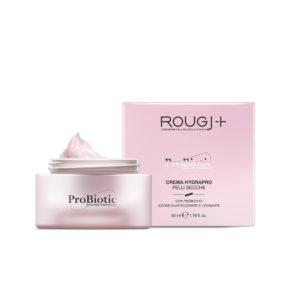 Rougj crema viso pelli secche Probiotic Skincare azione antirughe